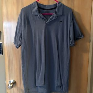 Old Navy Classic Polo Shirt Cauliflower Blue Sz L